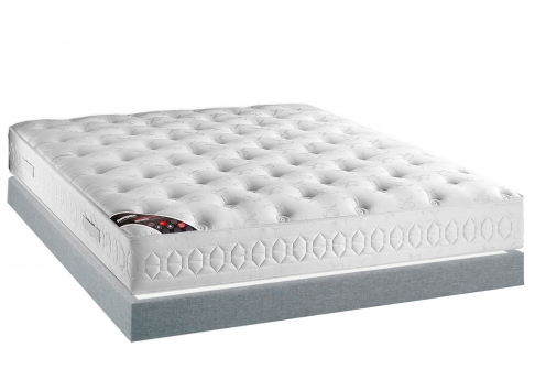 Matelas Latex Sommiers Dunlopillo CASSANDRE MADISON 15  160x200 (2 pers) duo