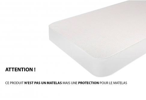 Protèges matelas Moshy CORAL IMPERMEABLE PROTECTION  140x190 (2 pers)