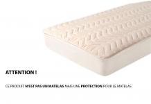 Protèges matelas Moshy FLEUR DE COTON PROTECTION 140x190 (2 pers)