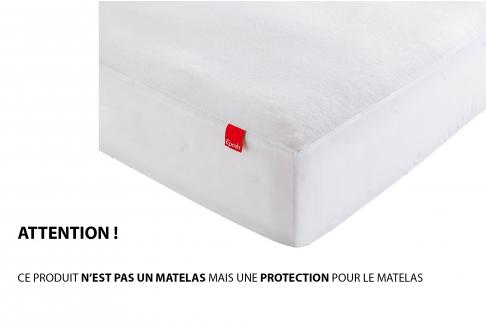 Protège matelas Epéda PROTEGE-MATELAS IMPERMEABLE  140x190 (2 pers)