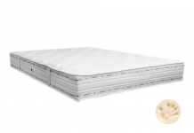 Matelas Ressorts Duvivier DEFI LUXE VISCO 180x200 (King size)
