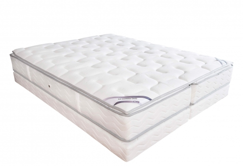 Literie Ressort Duvivier DUO GALA LUXE MOUSSE  140x190 (2 pers)