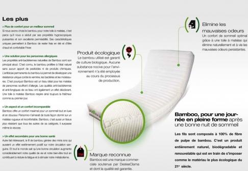 Matelas Mémoire de Forme Lovely Bed NATURE FORME  140x190 (2 pers)