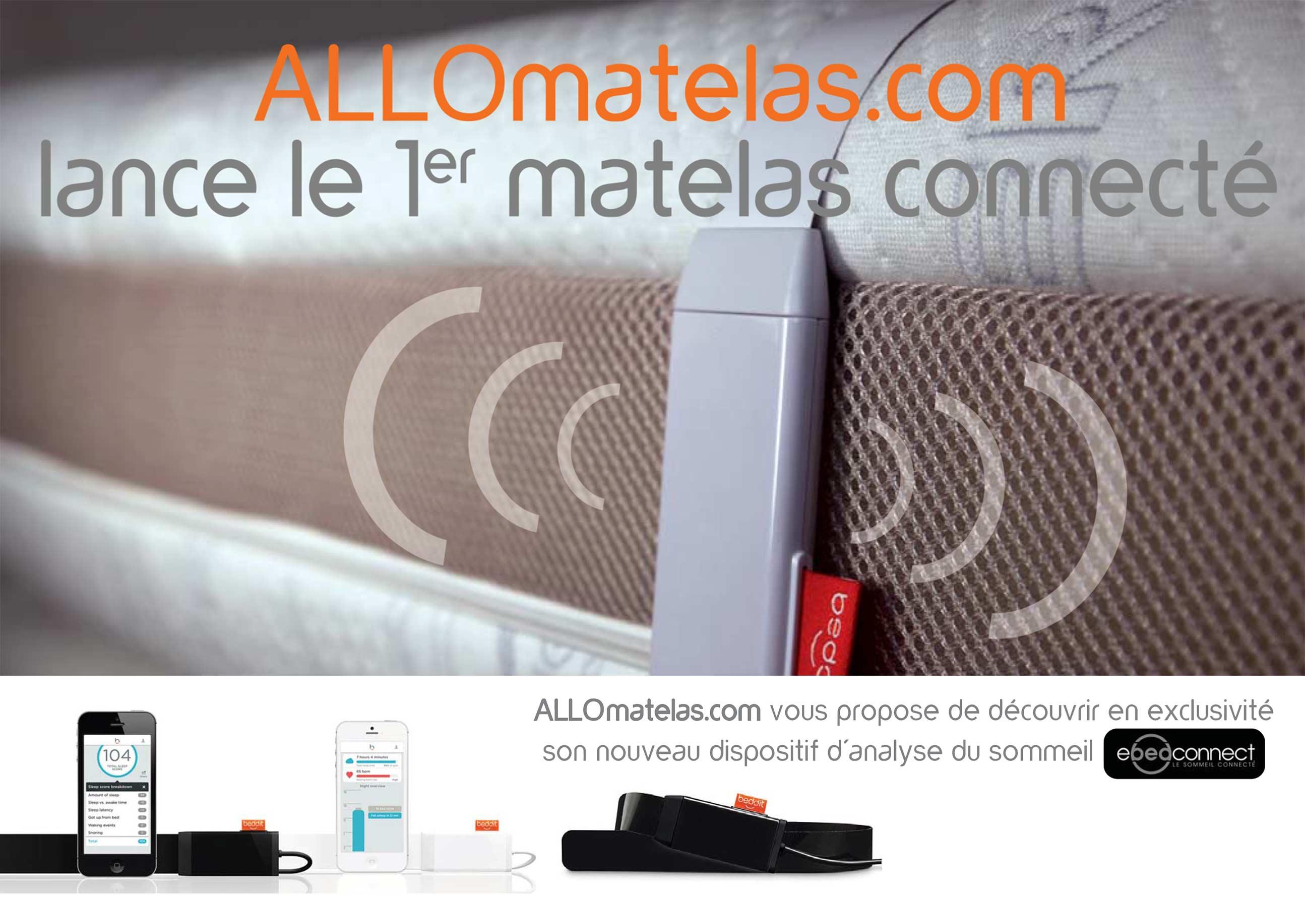 Matelas Ebedconnect Gravity 160×200 Queen Size Matelas M Moire De