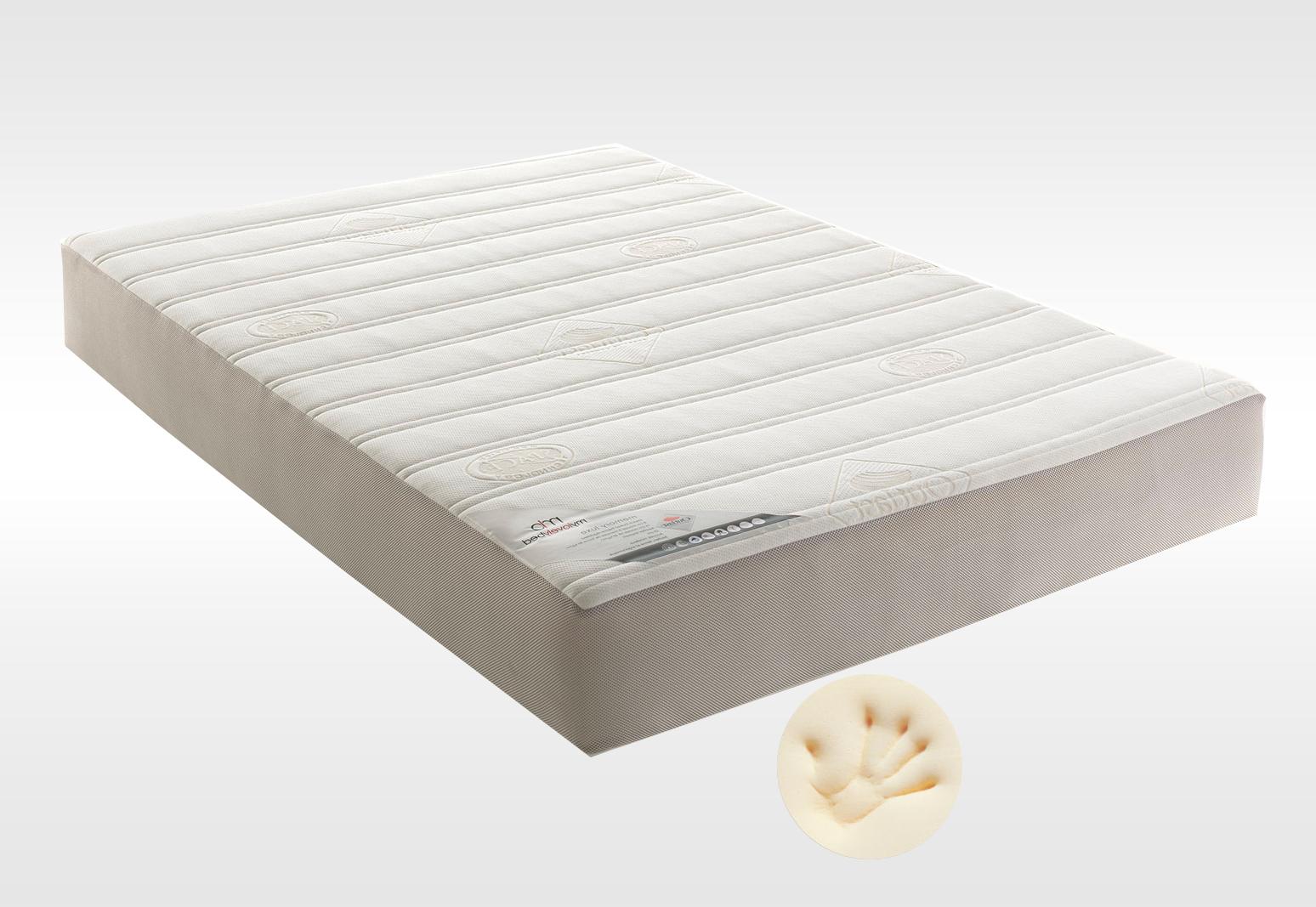Superb Matelas Memoire De Forme 80X200 #5: Matelas Memoire De Forme Lovely Bed MEMORY TOUCH RELAX 80x200 (1 Pers) ...