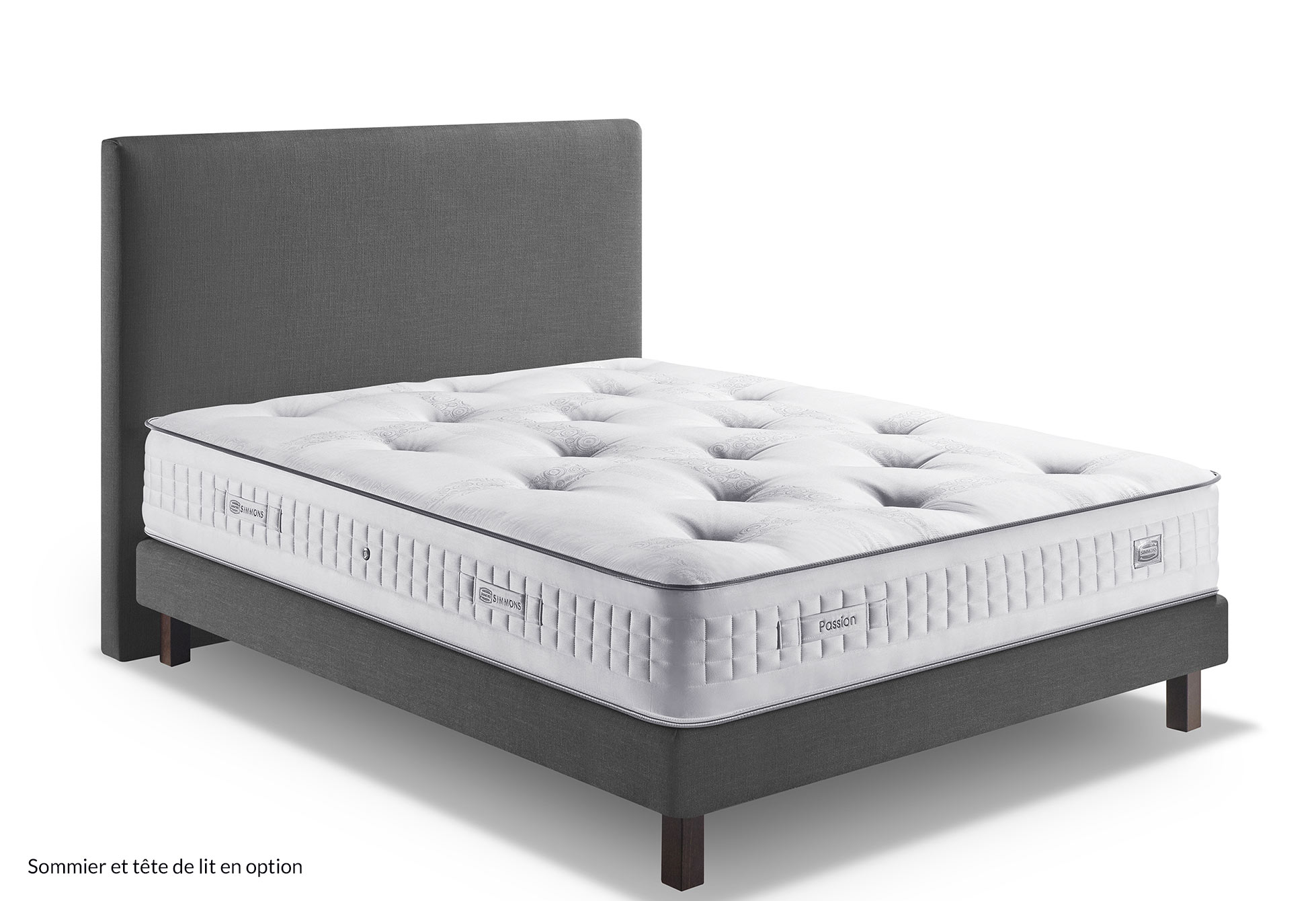 ... Matelas Ressorts Simmons PASSION 160x200 (Queen Size) ...