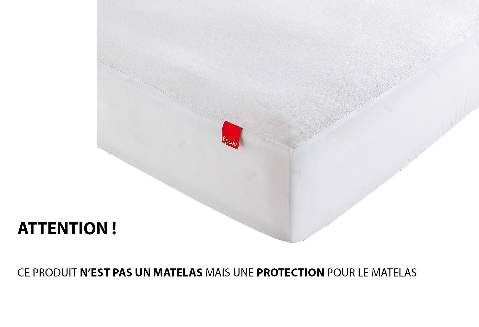 Protèges Matelas Epéda PROTEGE MATELAS IMPERMEABLE 140x190 (2 Pers)