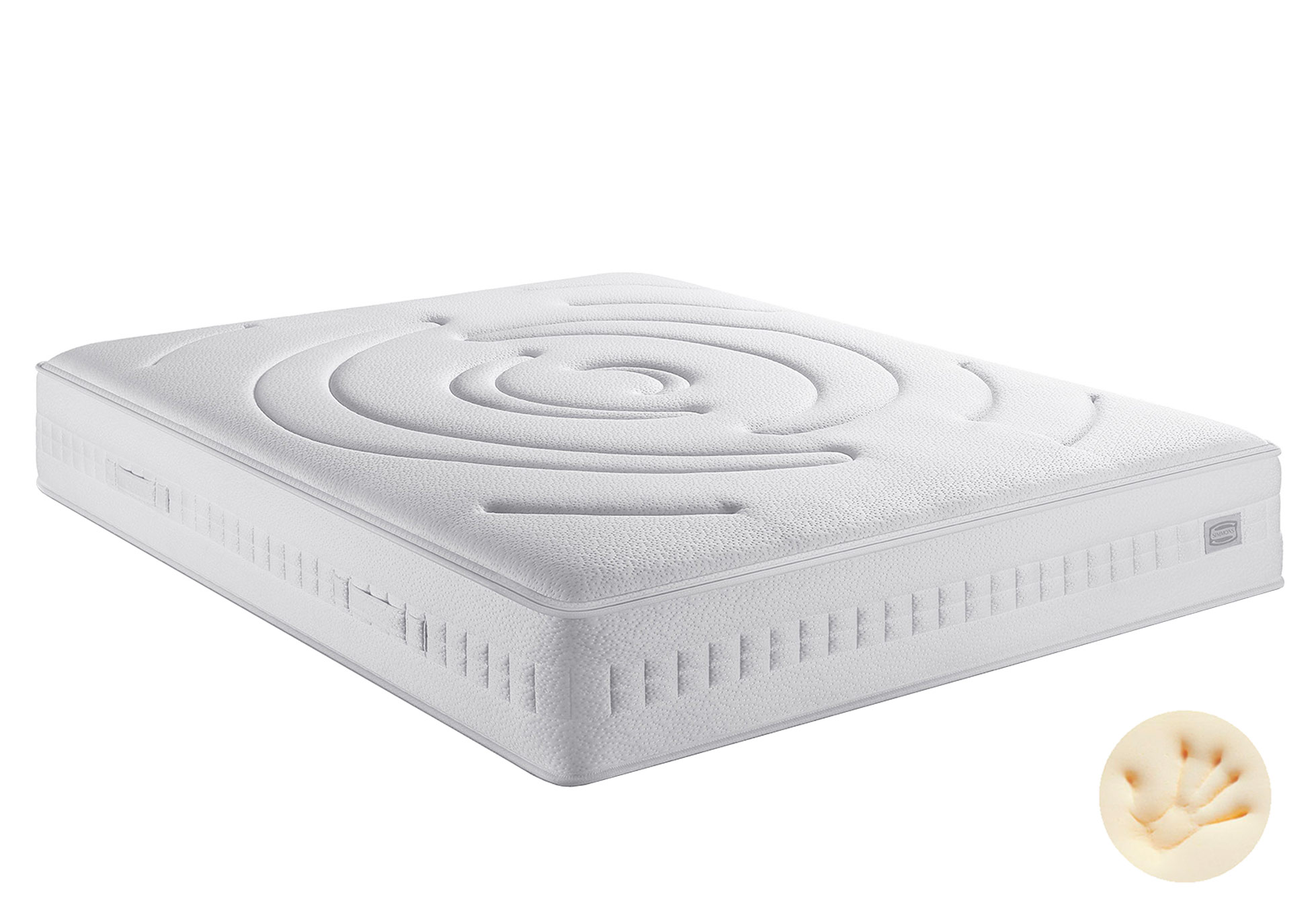 Matelas Ressorts Simmons FIRST S6  140x190 (2 pers)